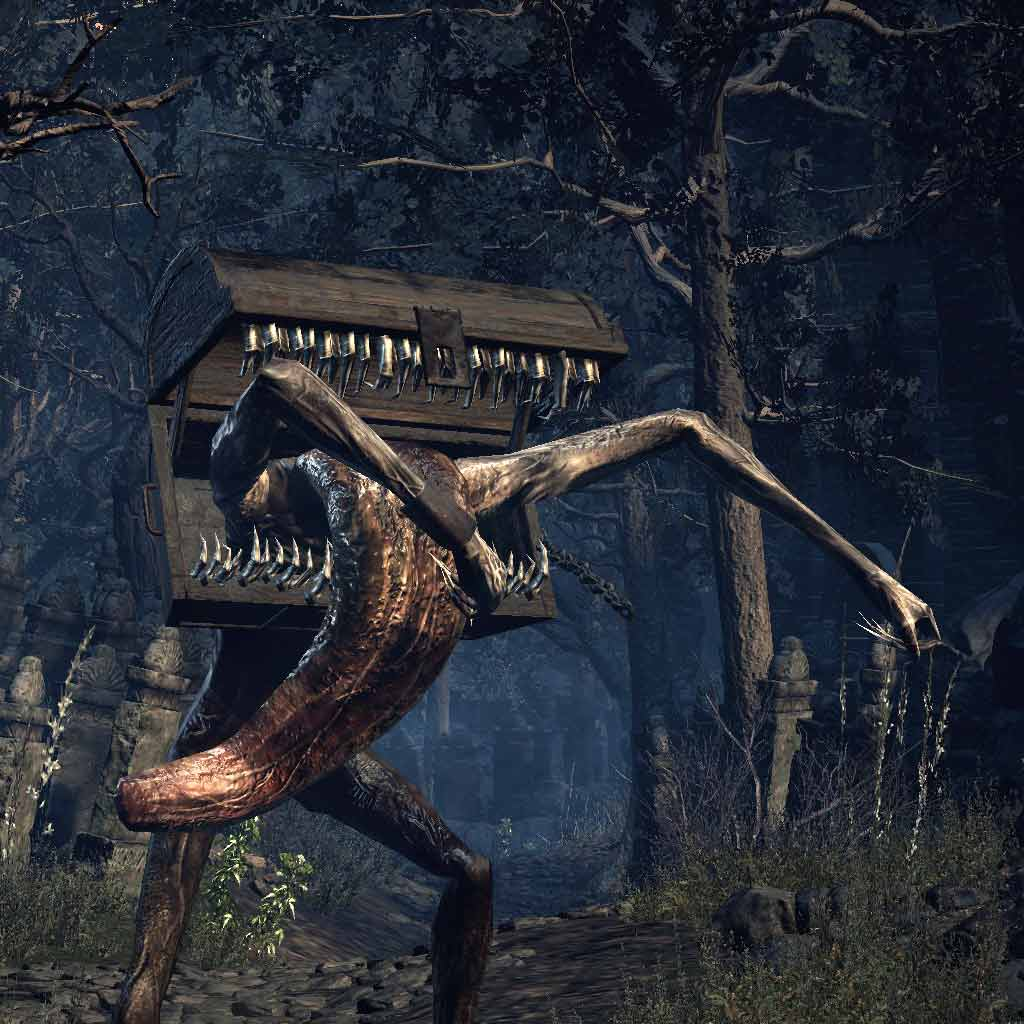 mimic - How To Get The Mimic Head In Dark Souls 3
