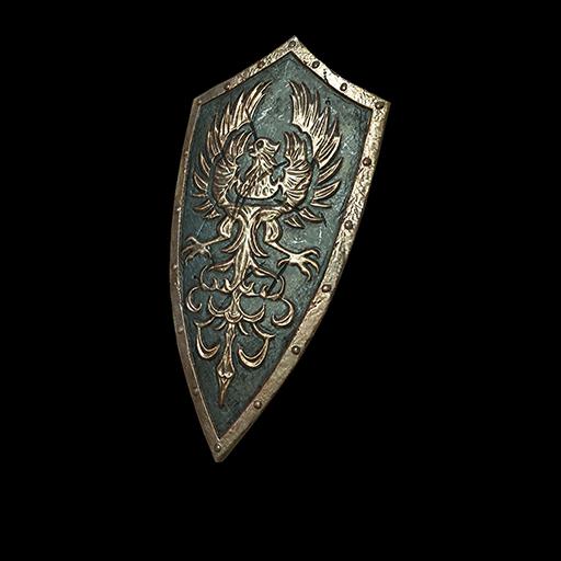 Golden Wing Crest Shield Image
