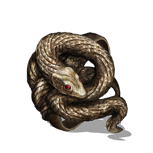 Covetous Gold Serpent Ring Image