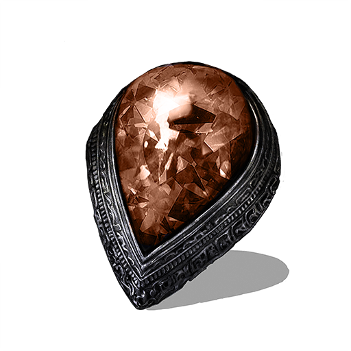 Red Tearstone Ring Image