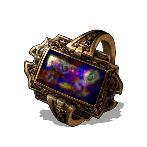 Speckled Stoneplate Ring Image