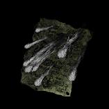 Black Fire Scatter Image